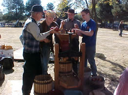 The Cider Squeeze at Philip Foster Farm